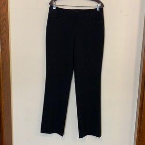 Express black wide leg pants, 8
